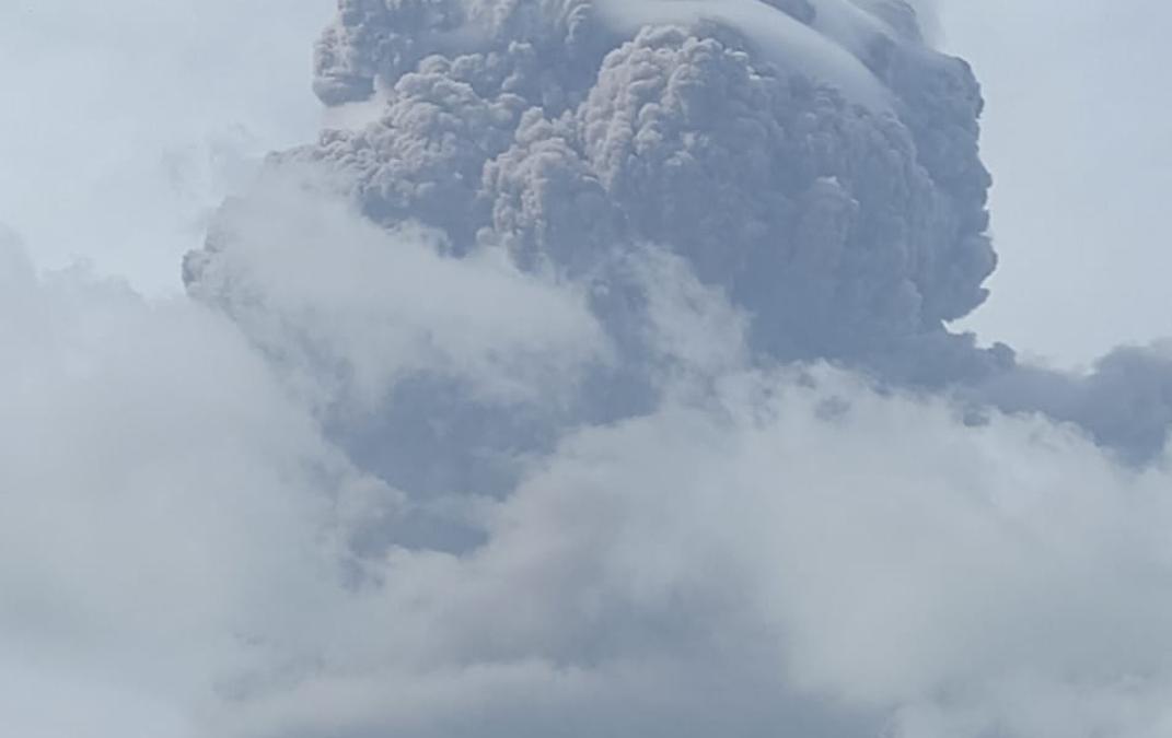 La Soufrière Volcano in St. Vincent Rumbles to Life