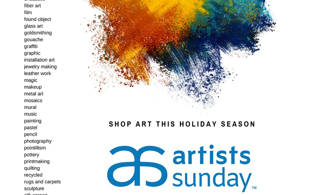 Support Artists Sunday – November 29th, 2020